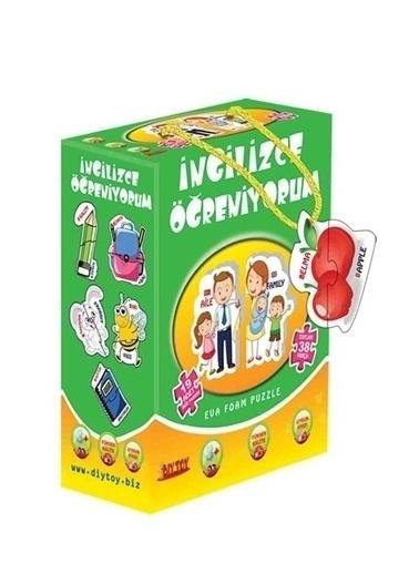 Morhipo kitap Diy-Toy Yayınları İngilizce Öğreniyorum Puzzle 1484 Renkli
